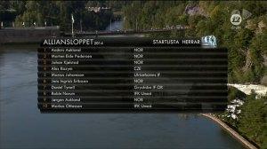 Startlista Alliansloppet 2014